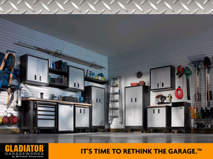 Stop By To See The Display And What We Can Do Help You Design Your Own Gladiator Garage